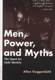 Cover of: Men, power, and myths by Allan Guggenbühl
