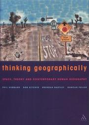 Cover of: Thinking Geographically | Phil Hubbard