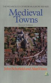 Cover of: Medieval towns | Schofield, John