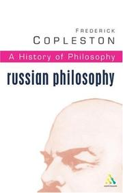 Cover of: History of Philosophy Volume 10 | Frederick Charles Copleston