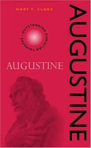 Cover of: Augustine (Outstanding Christian Thinkers) by Mary T. Clark