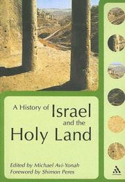 Cover of: A History Of Israel And The Holy Land | Shimon (FWD) Peres