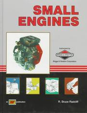 Cover of: Small engines by R. Bruce Radcliff