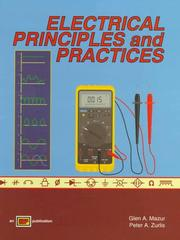 Cover of: Electrical principles and practices by Glen Mazur