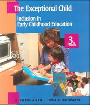 Cover of: The Exceptional Child | Eileen K. Allen