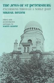 Cover of: The Jews of St. Petersburg | M. Beĭzer