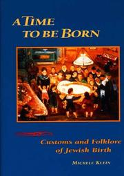 Cover of: A Time to be Born | Michele Klein