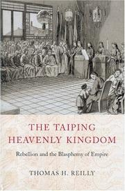 Cover of: The Taiping Heavenly Kingdom | Thomas H. Reilly