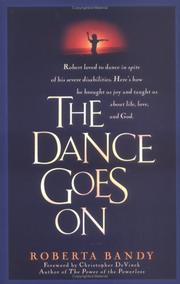 Cover of: The Dance Goes on by Roberta Bandy