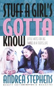 Cover of: Stuff a Girl's Gotta Know by Andrea Stephens
