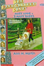 Mary Anne + 2 many babies.(Baby-Sitters Club no.052)