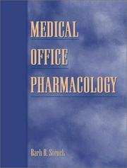 Cover of: Medical Office Pharmacology | Barb R. Struck