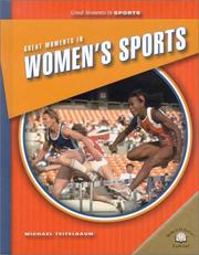 Cover of: Great Moments in Women's Sports (Great Moments in Sports) by Michael Teitelbaum