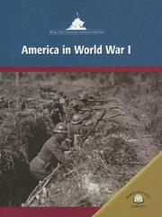 Cover of: America in World War I by Richard Worth