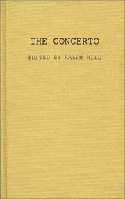 Cover of: The concerto by Hill, Ralph