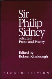 Cover of: Sir Philip Sidney | Robert Kimbrough