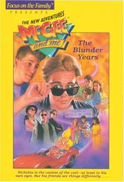 Cover of: The Blunder Years (McGee and Me! #11 Book) | Bill Myers