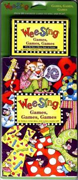 Cover of: Wee Sing Games Games Games book and cassette | Susan Hagen Nipp