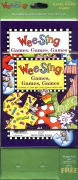 Cover of: Wee Sing Games Games Games book and cd | Susan Hagen Nipp