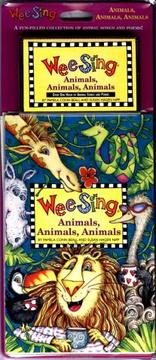 Cover of: Wee Sing Animals Animals Animals book and cassette | Susan Hagen Nipp