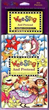 Cover of: Wee Sing and Pretend book and cassette by Susan Hagen Nipp