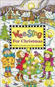 Cover of: Wee Sing for Christmas book & cassette | Susan Hagen Nipp