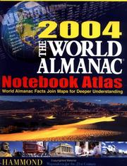 Cover of: The World Almanac 2004 Notebook Atlas | Hammond World Atlas