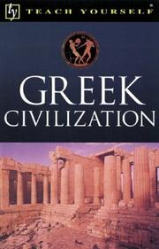 Cover of: Teach Yourself Greek Civilization by John Purkis