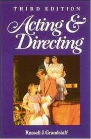 Cover of: Acting & directing by Russell J. Grandstaff