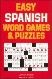 Cover of: Easy Spanish Word Games & Puzzles | Jamie Padilla