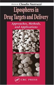 Cover of: Lipospheres in Drug Targets and Delivery by Claudio Nastruzzi