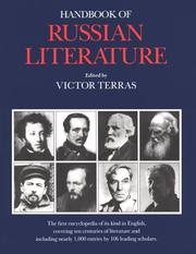 Cover of: Handbook of Russian Literature | Victor Terras