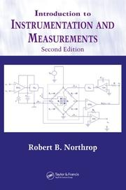 Cover of: Introduction to instrumentation and measurements | Robert B. Northrop