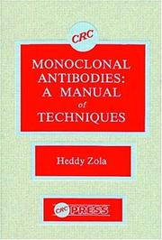 Cover of: Monoclonal antibodies | Heddy Zola