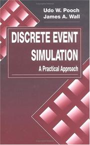 Cover of: Discrete event simulation | Udo W. Pooch