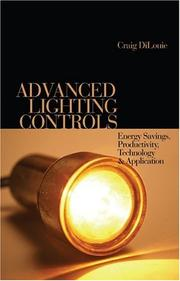 Cover of: Advanced Lighting Controls | Craig DiLouie