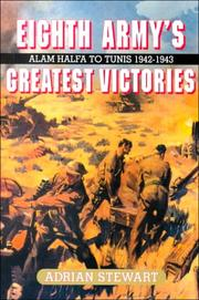 Cover of: Eighth Army's greatest victories | Adrian Stewart