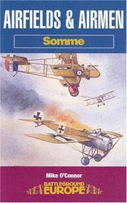 Cover of: Airfields and airmen, Somme by O'Connor, Mike