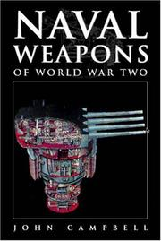 Cover of: Naval Weapons of World War Two | John Campbell