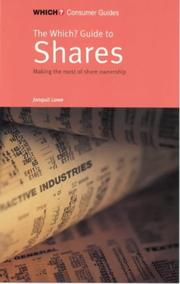 "Cover of: ""Which?"" Guide to Shares (""Which?"" Consumer Guides) by Jonquil Lowe"