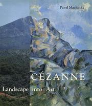 Cover of: Cézanne | Pavel Machotka