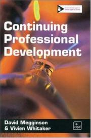 Cover of: Continuing Professional Development by David Megginson