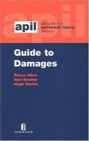 Cover of: Guide to damages by Allen, Simon solicitor.