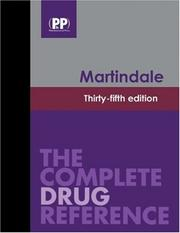 Cover of: Martindale: The Complete Drug Reference, 35th Edition | Sean Sweetman