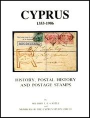 Cover of: Cyprus, 1353-1986 by Wilfrid T. F. Castle