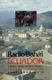 Cover of: Radio Bahá'í, Ecuador | Kurt Hein