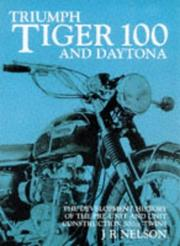 Cover of: Tiger 100/Daytona by J. R. Nelson