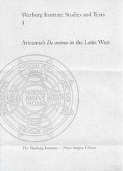 Cover of: Avicenna's De anima in the Latin West by Dag Nikolaus Hasse