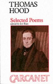 Cover of: Selected Poems (Fyfield Books) | Thomas Hood
