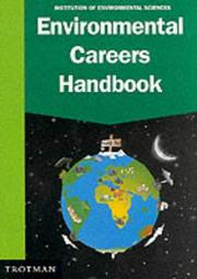 Cover of: Environmental Careers Handbook | Institution of Environmental Sciences